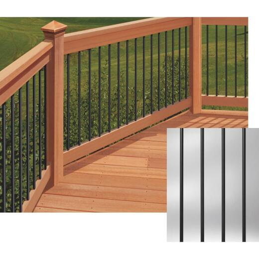 Deckorators 32 In. Black Aluminum Classic Baluster (10-Pack)