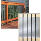 Deckorators 32 In. Black Aluminum Traditional Baluster (10-Pack) Image 1