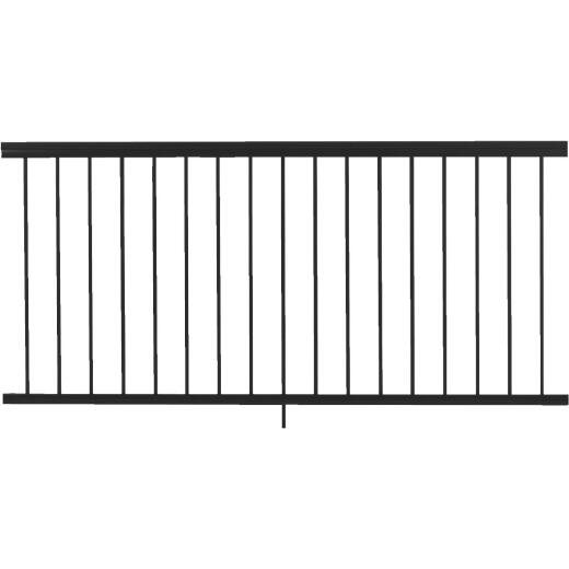 Gilpin Summit 36 In. H. x 6 Ft. L. Black Aluminum Railing
