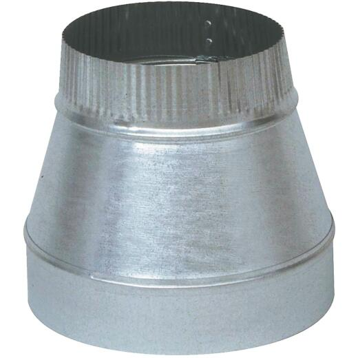 Imperial 24 Ga. 4 In. x 3 In. Galvanized Reducer