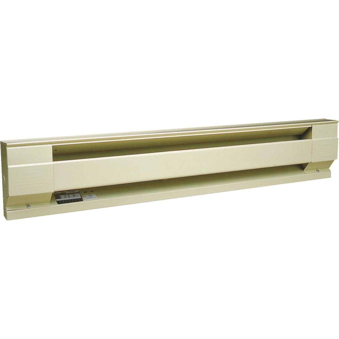 Cadet 72 In. 1500-Watt 240-Volt Electric Baseboard Heater, Almond Image 1