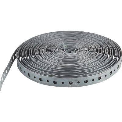 Jones Stephens 3/4 In. x 50 Ft. Galvanized Steel Pipe Strap
