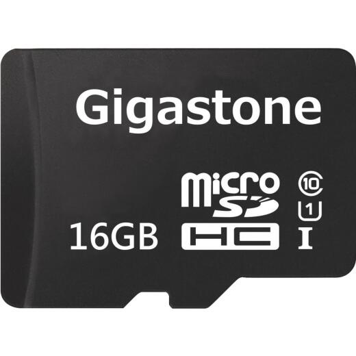 Gigastone Prime Series MicroSD Card 16 GB 2-in-1 Kit