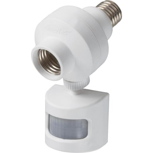 Westek 180 Deg 30 Yd. Range White Motion Sensing Adapter