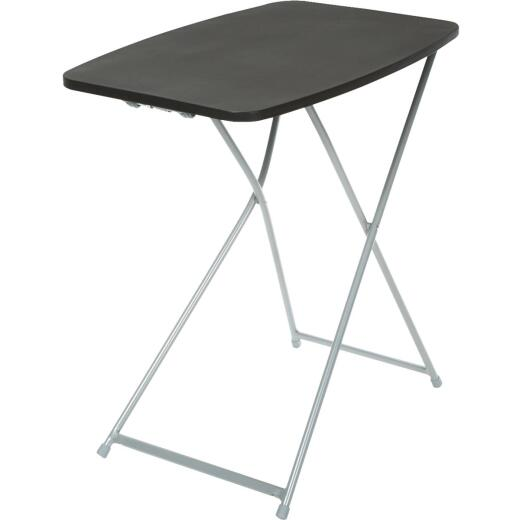 COSCO 26 In. x 18 In. Black Personal Folding Table