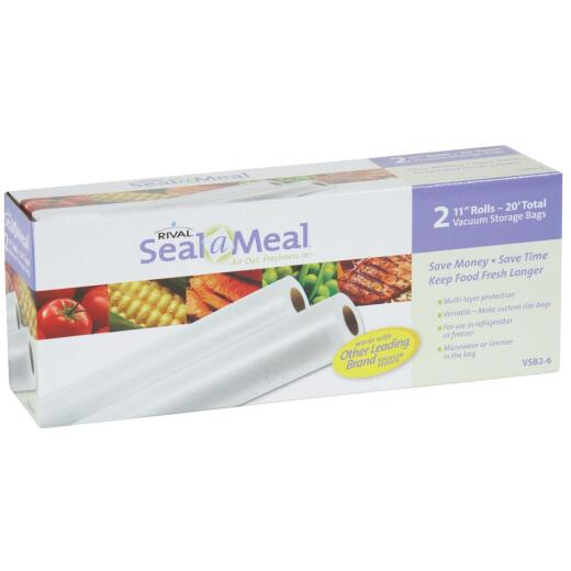 Seal-A-Meal 11 In. x 10 Ft. Vacuum Sealer Bag Roll (2 Count)
