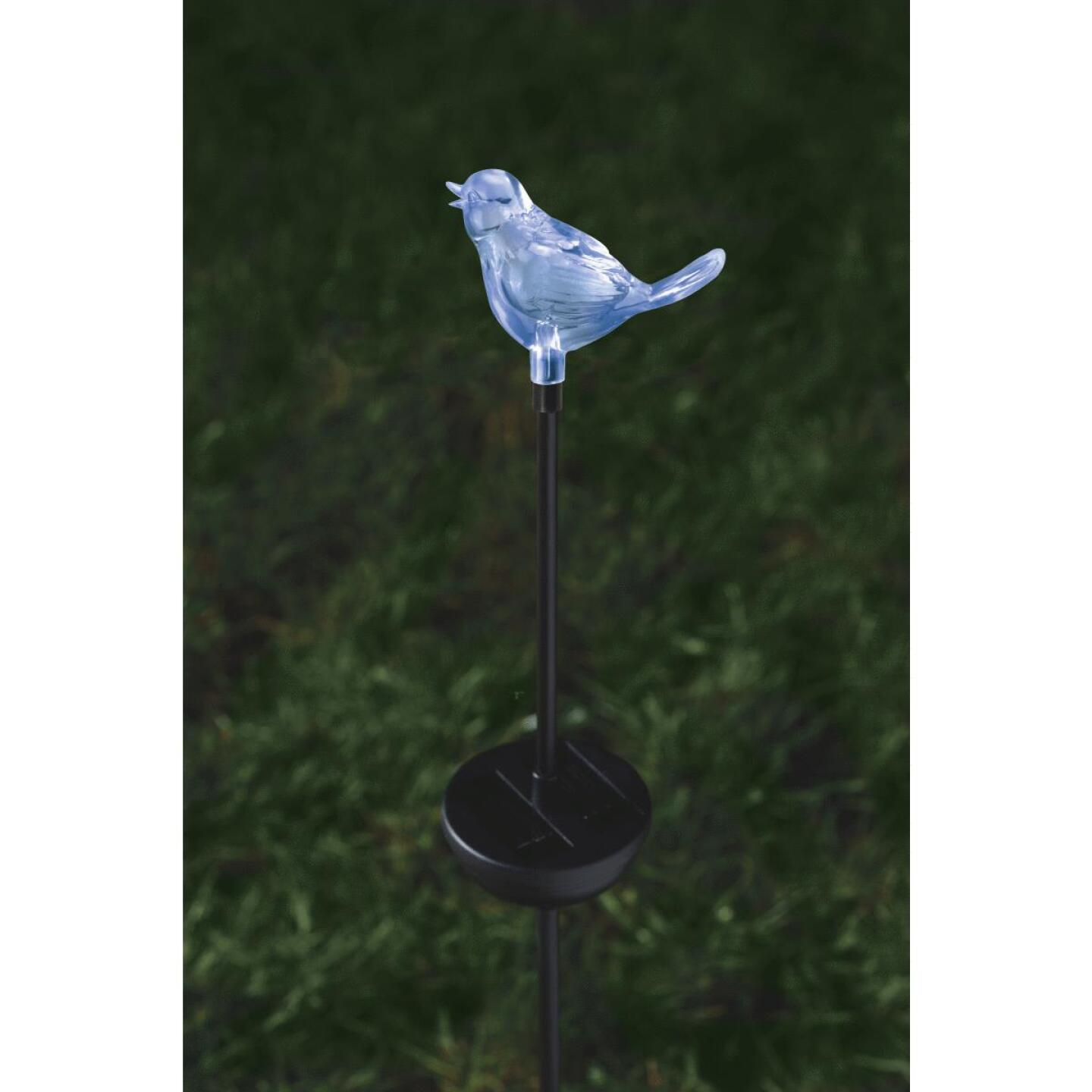 Moonrays Color Changing Plastic 32 In. H. Solar Stake Light Lawn Ornament Image 22