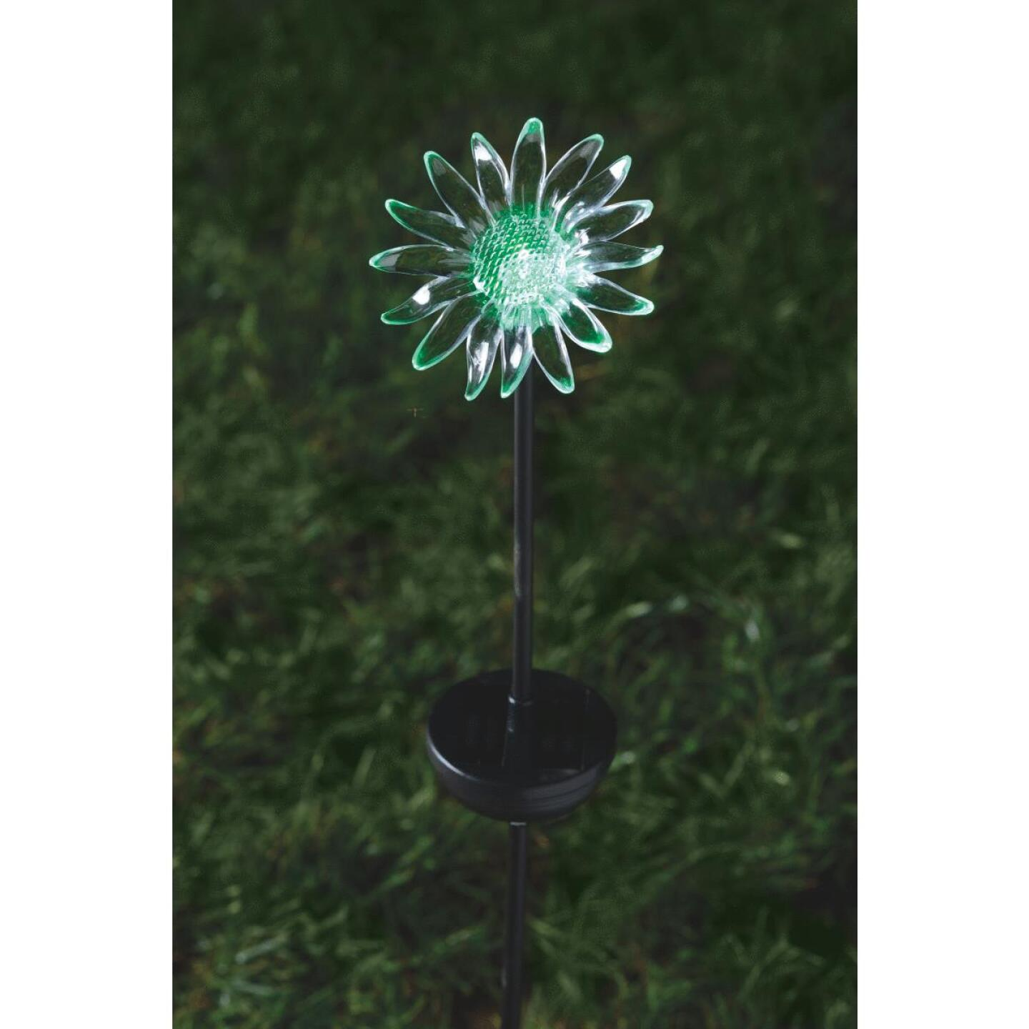 Moonrays Color Changing Plastic 32 In. H. Solar Stake Light Lawn Ornament Image 26