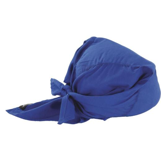 Ergodyne Chill-Its Triangle Hat Blue Cooling Bandana