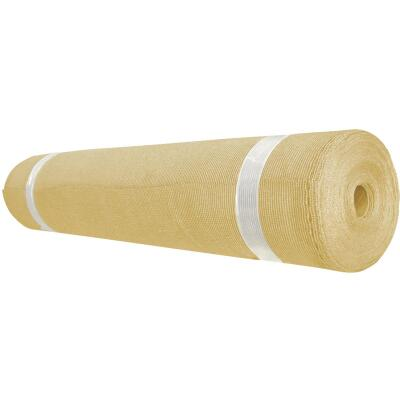 Coolaroo 6 Ft. W. x 100 Ft. L. Sandstone 70% UV Sun Screen Fabric