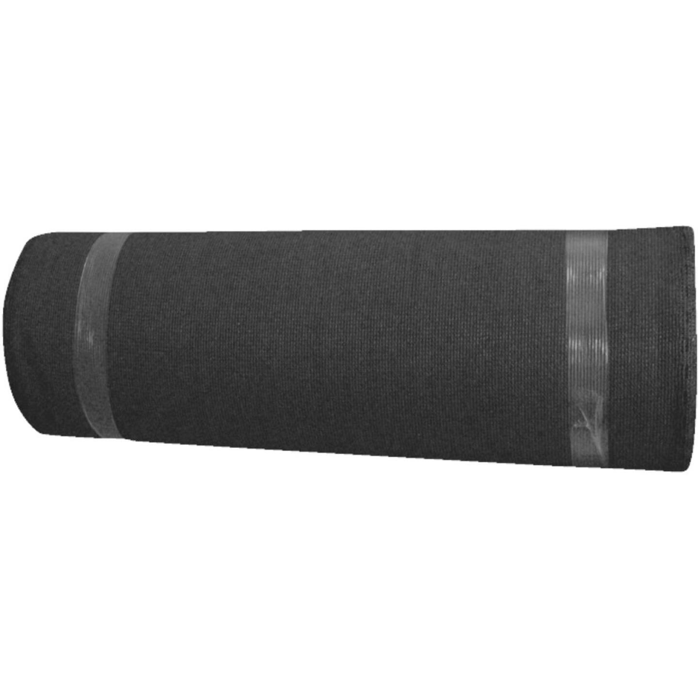 Coolaroo 6 Ft. W. x 100 Ft. L. Black 50% UV Sun Screen Fabric Image 1