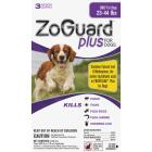 ZoGuard Plus 3-Month Supply Flea & Tick Treatment For Dogs 23 Lb. to 44 Lb. Image 1