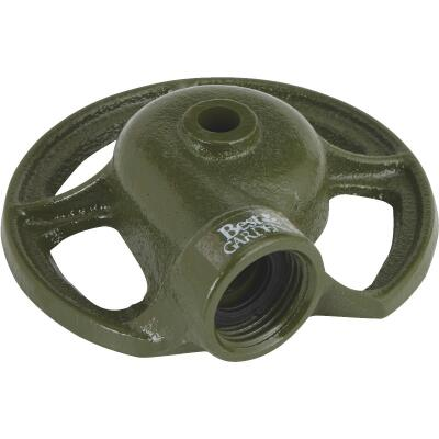 Best Garden Metal 30 Ft. Dia. Round Stationary Sprinkler, Green