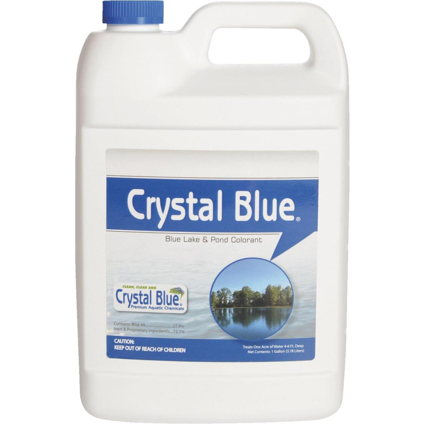 Crystal Blue 1 Gal. 1-Acre Blue Lake & Pond Colorant Image 1