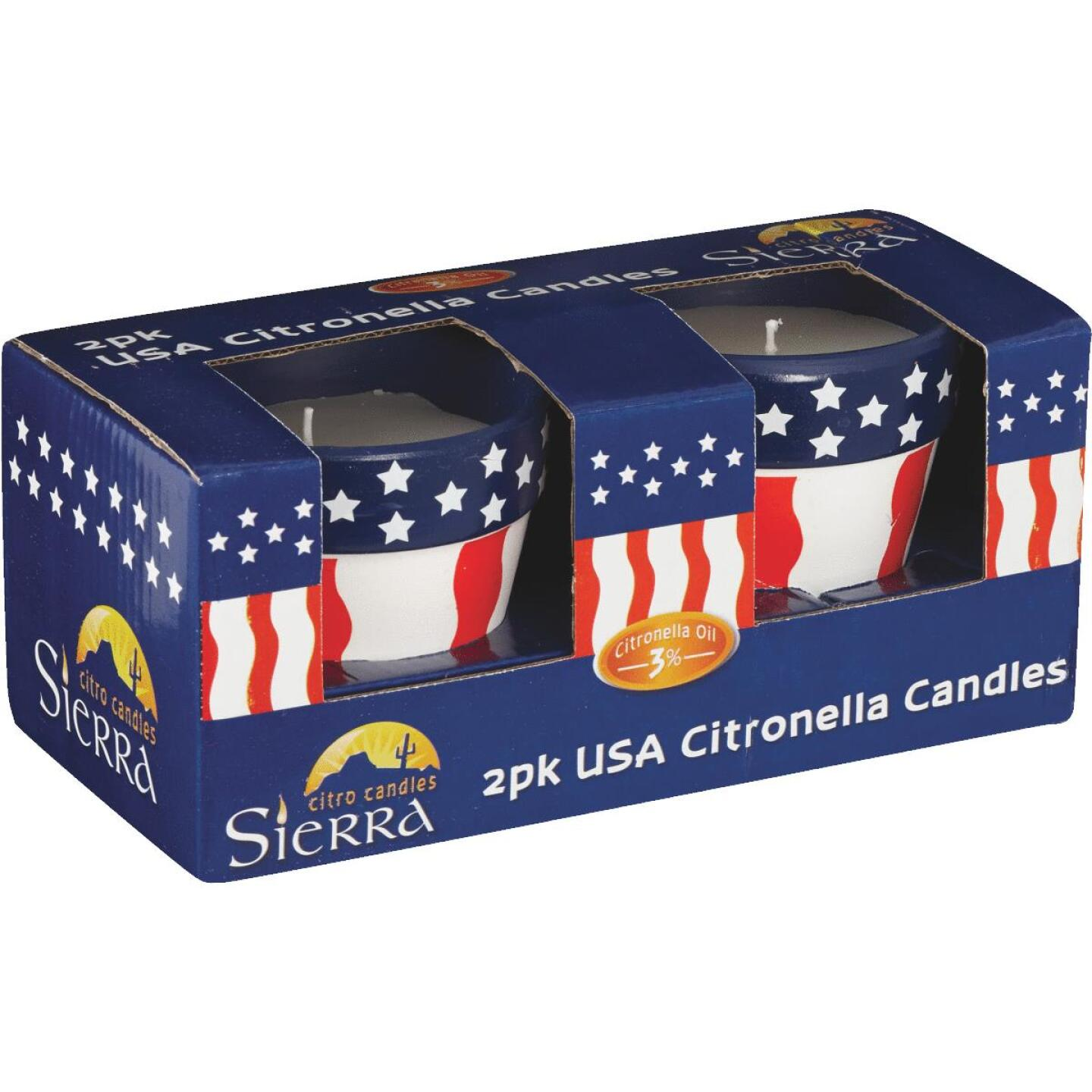 Sierra 3.5 Oz. 1-Wick USA Citronella Candle (2-Pack) Image 3