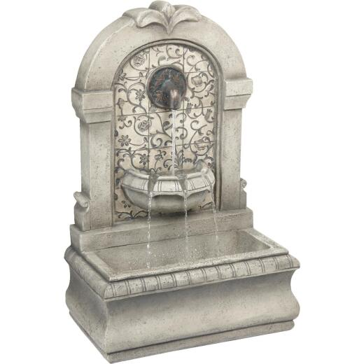 Best Garden 11.8 In. W. x 30.3 In. H. x 19.3 In. L. Resin Wall Fountain