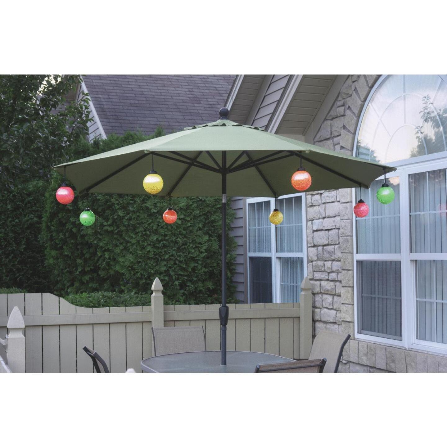 Xodus 5 In. LED Battery Operated Patio Umbrella Globe Light Image 2