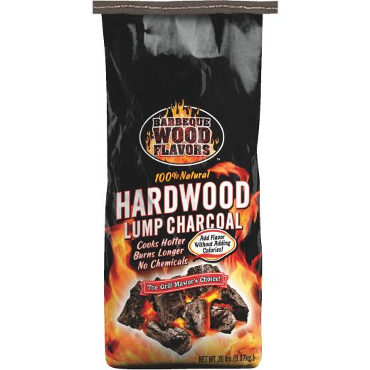 Barbeque Wood Flavors 20 Lb. Hardwood Lump Charcoal